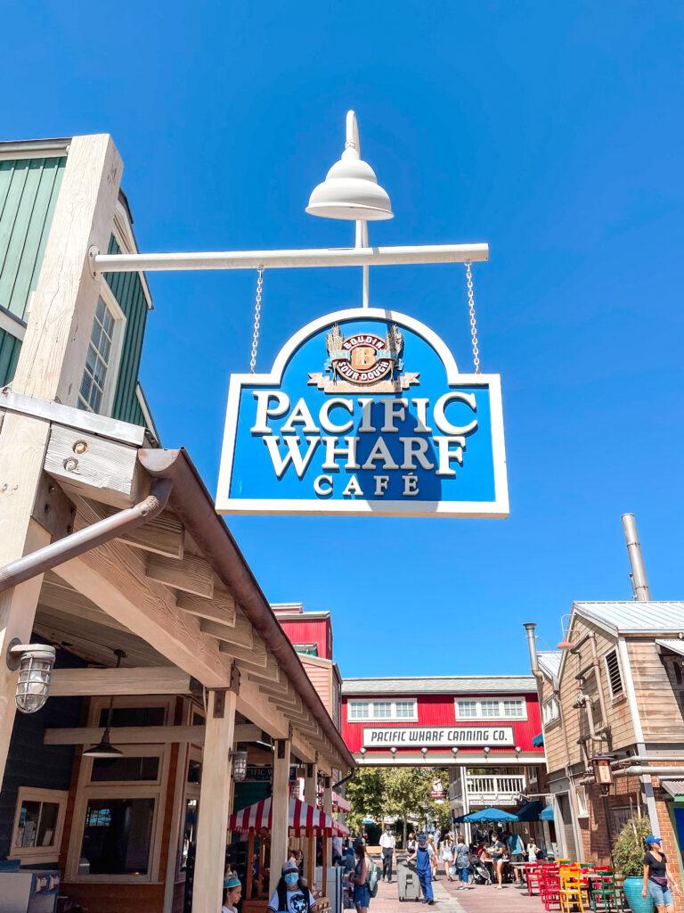 Pacific Wharf Cafe at Disneyland.