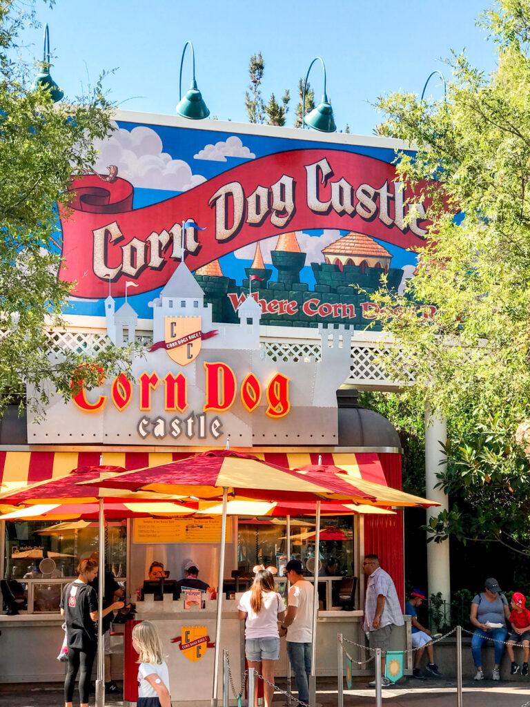 Corn Dog Castle at Disneyland.