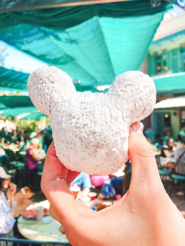 Mickey Beignets from Disneyland.