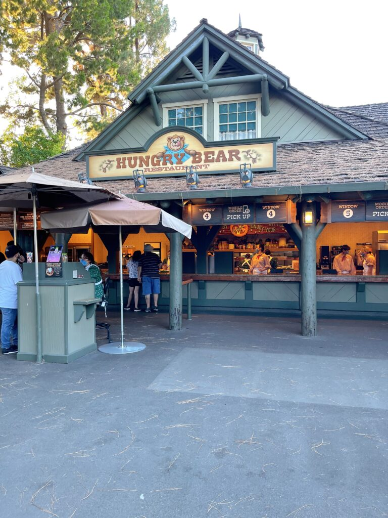 Disneyland's Hungry Bear Restaurant.