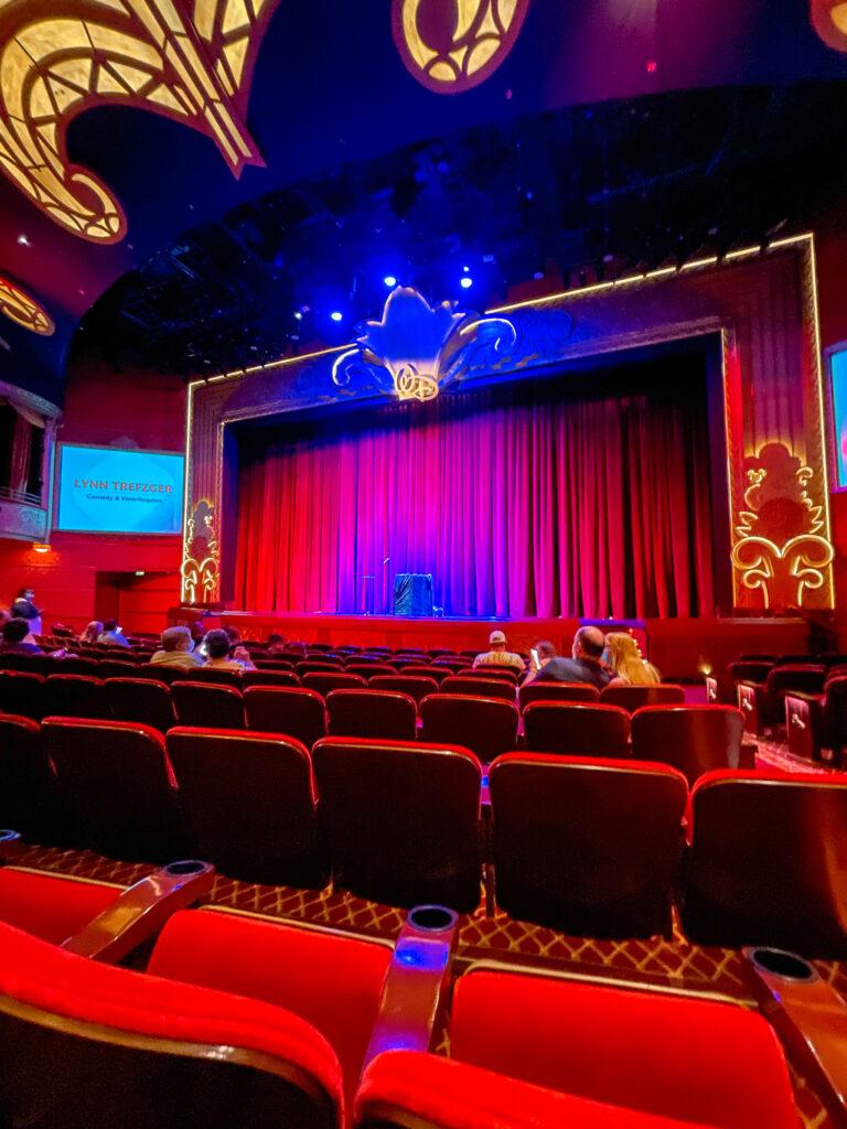 Walt Disney Theater on the Disney Dream.