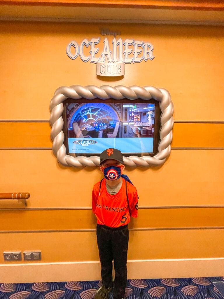 Oceaneer's Lab kids club on the Disney Dream.