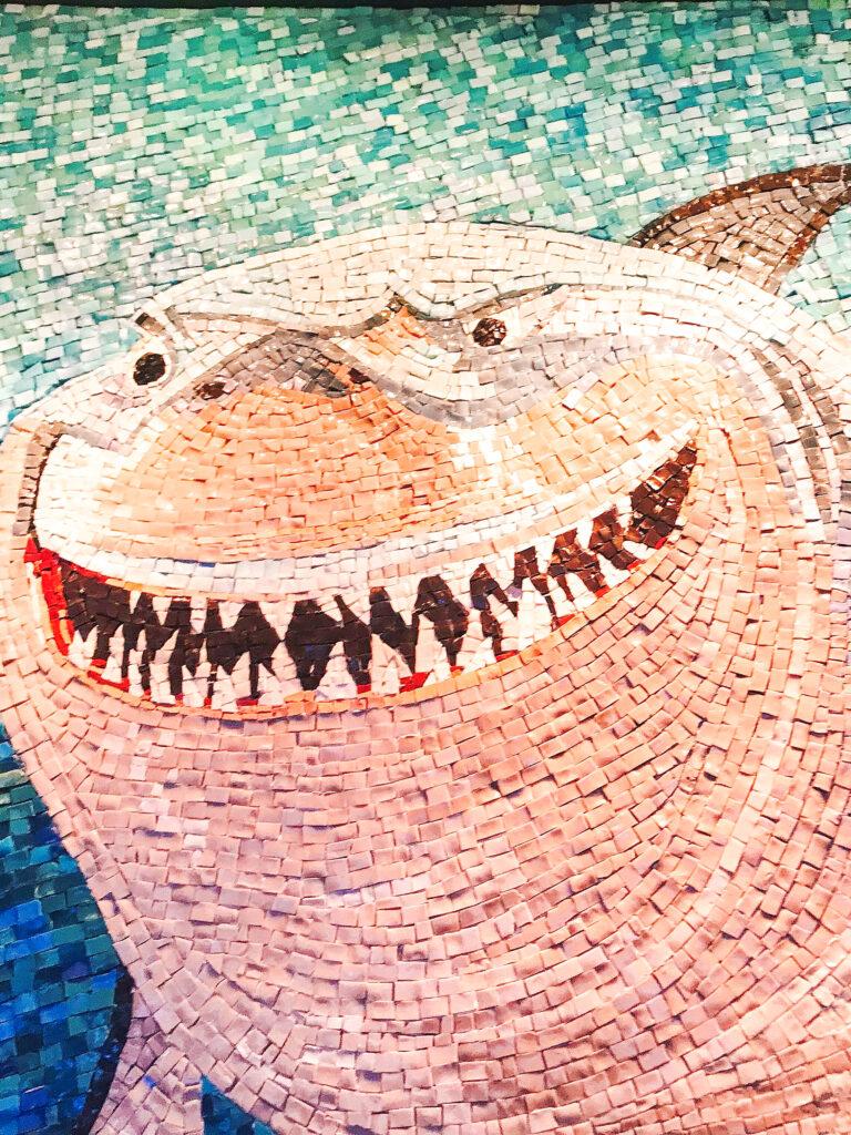 Mosaic art from Cabanas.
