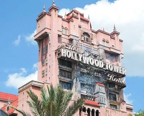 Twilight Zone Hollywood Tower of Terror